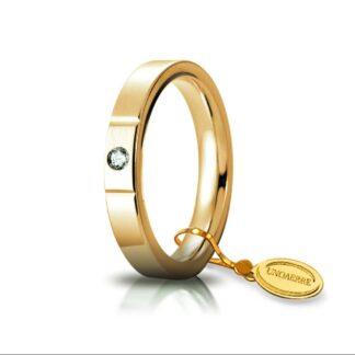 Fede Unoaerre Oro Diamante