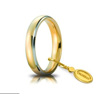 Fede Comoda Unoaerre Oro Bicolore