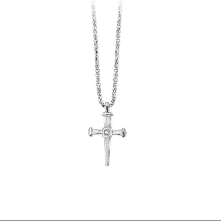 Collana 2Jewels Acciaio Cristalli Croce - Faith - 251452