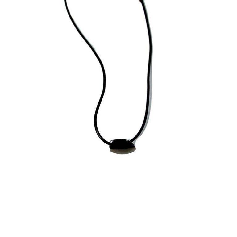 Collana Breil Acciaio Ciondolo Nero - BJ0222