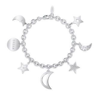 Bracciale 2Jewels in Acciaio con Stelle e Luna - Preppy - 232011