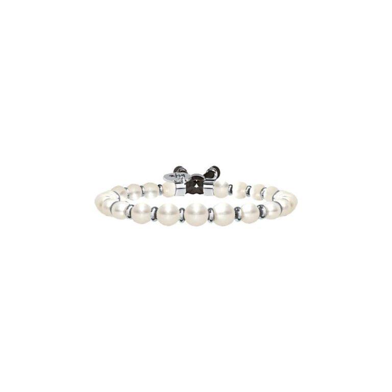 Bracciale Donna Kidult in Acciaio e Perle  Pietre della Fortuna - Symbols - 731423