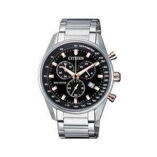 Orologio Citizen Acciaio Uomo Cronografo Eco Drive - Chrono - AT2396-86E