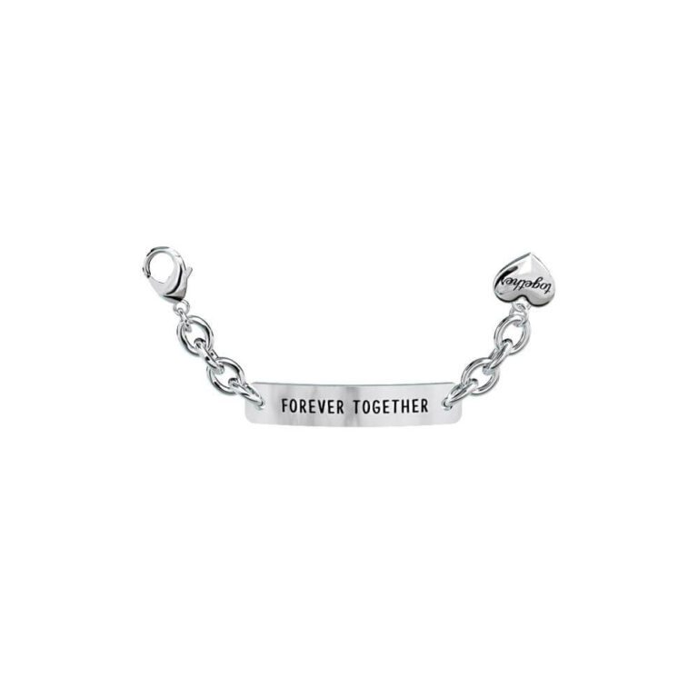 Elemento singolo 2Jewels Together - Acciaio Targhetta - Forever Together - 131096