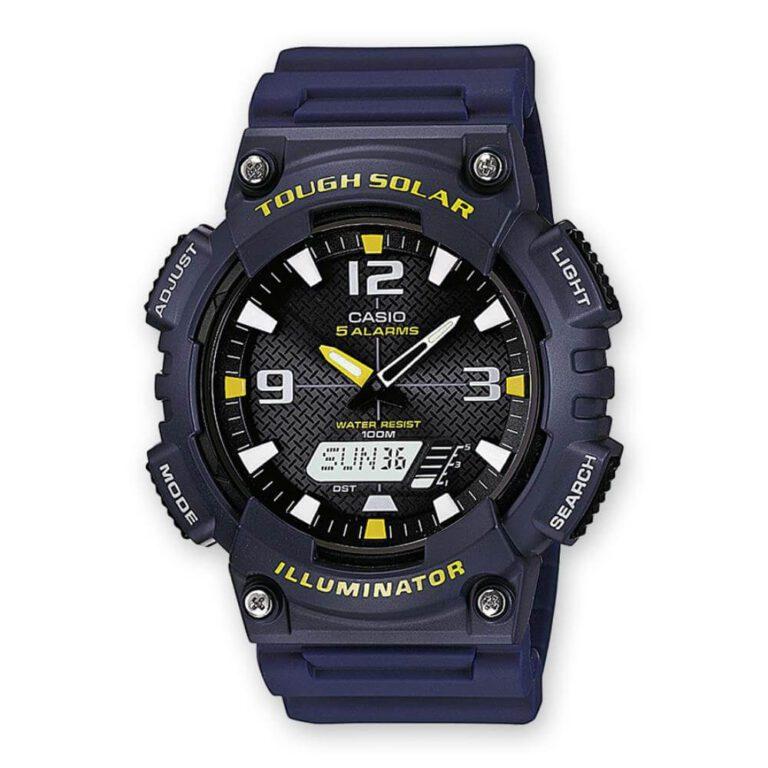 Orologio Cronografo Casio Uomo Resina - AQ-S810W-2AVEF