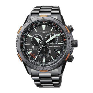Orologio Cronografo Citizen Eco Drive in Acciaio - Crono Pilot - CB5007-51H