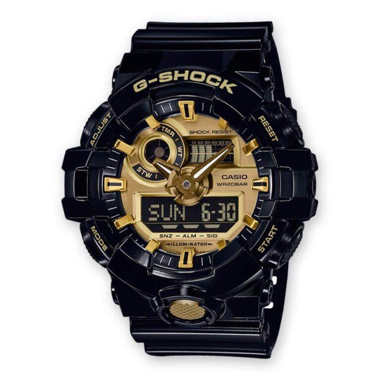 Orologio Casio Cronografo G-Shock Uomo Resina - GA-710GB-1AER