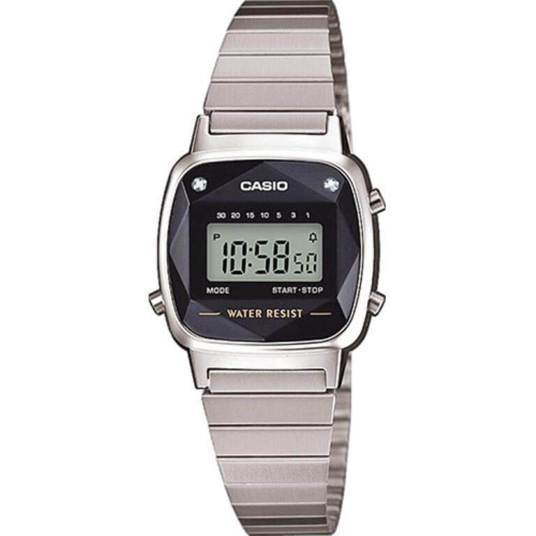 Orologio Casio Unisex Acciaio - LA670WEAD-1EF