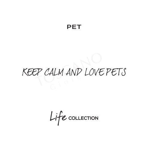 Bracciale Donna Kidult in Acciaio e Agata Pet  Keep Calm And Love Pets - Family - 731463