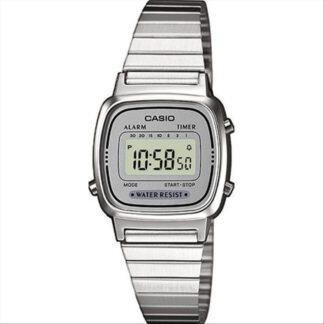 Orologio Digitale Casio Donna Acciaio - LA670WEA-7EF