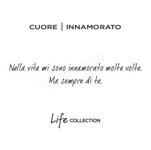 Bracciale Donna Kidult in Acciaio Cuore  Innamorato - Love - 731059