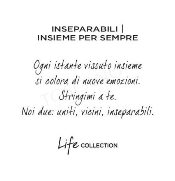 Bracciale Donna Kidult in Acciaio  Inseparabili – Love – 731272