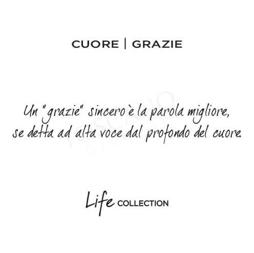 Bracciale Donna Kidult in Acciaio con Cuore  Grazie - Love - 731635