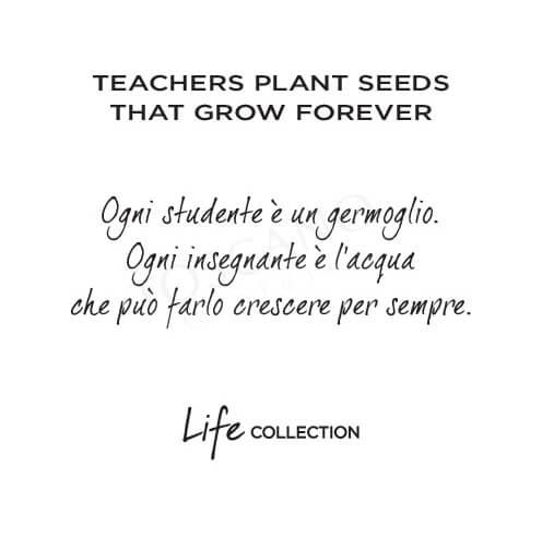 Bracciale Donna Kidult in Acciaio  Teachers Plant Seeds... - Love - 731645