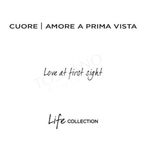 Bracciale Donna Kidult in Acciaio Cuore  Love At First Sight – Love – 731426