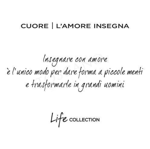 Bracciale Donna Kidult in Acciaio e Labradorite Cuore  L'amore insegna - Love - 731440