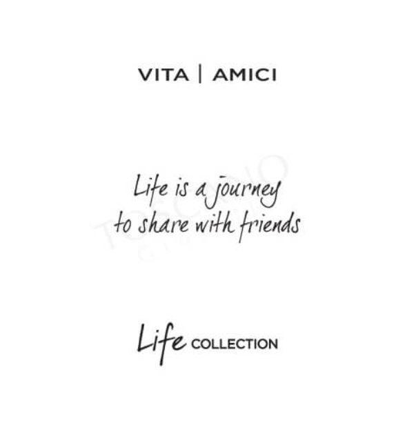 Bracciale Donna Kidult in Acciaio e Agata  LIfe is a Journey – Love – 731446