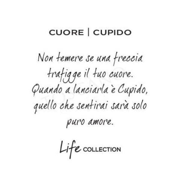 Bracciale Donna Kidult in Acciaio e Agata Cuore  Cupido – Love – 731450
