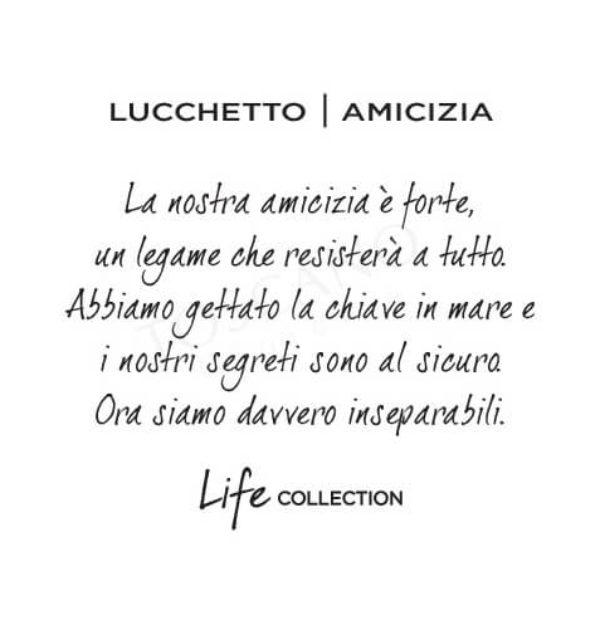 Bracciale Donna Kidult in Acciaio Lucchetto  Amicizia – Love – 231624