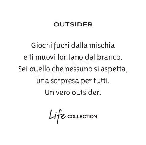 Bracciale Uomo Kidult in Acciaio e Turchese  Outsider - Philosophy - 731403