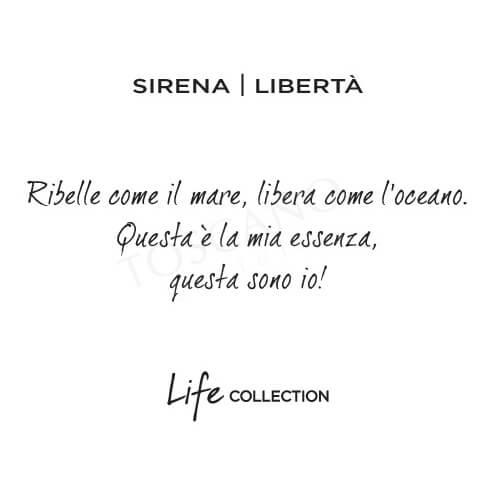 Bracciale Donna Kidult in Acciaio Sirena  Libertà - Symbols - 731316