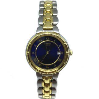 Orologio Donna Seiko Solo Tempo Acciaio Bicolore - SXD126P