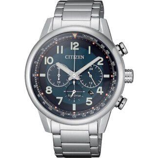 Orologio Citizen Eco Drive Cronografo Acciaio - Millitary - CA4420-81L
