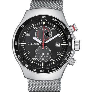 Orologio Citizen Eco Drive Cronografo Acciaio - Chrono - CA7010-86E