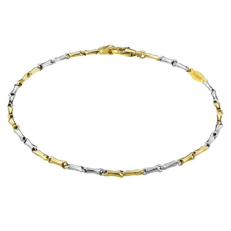 Bracciale Zancan Oro Bicolore 18kt - Eternity Gold - EB886BG