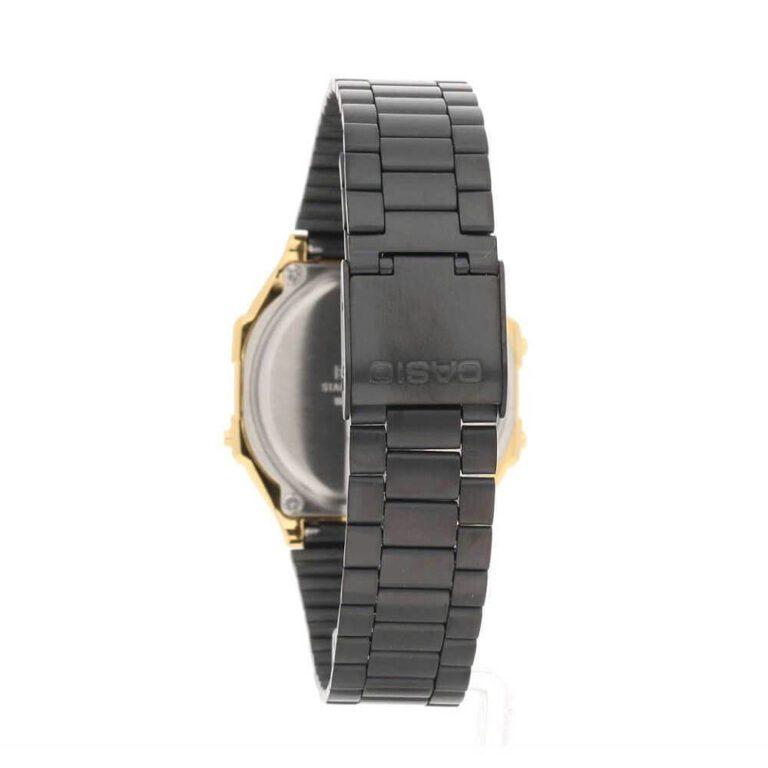 Orologio Cronografi Casio Acciaio Bicolore - Vintage - A168WEGB-1BEF