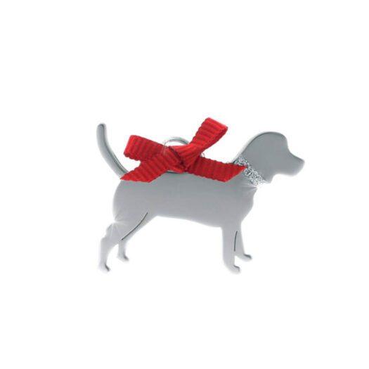Ciondolo Unoaerre Argento Smalto Cane Meticcio - Happy Pets - AG843