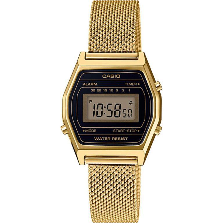 Orologio Cronografo Casio Acciaio Dorato - Vintage - LA690WEMY-1EF