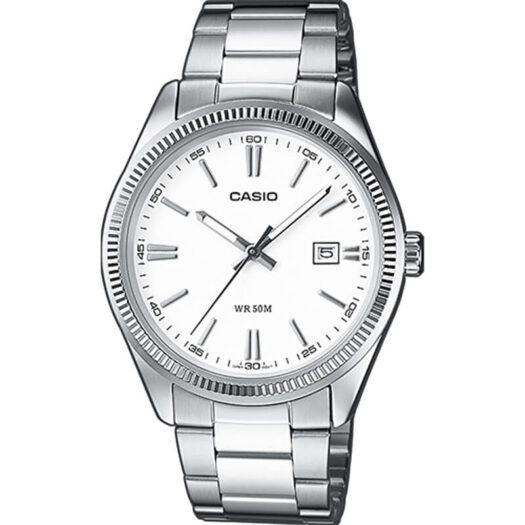 Orologio Solo Tempo Unisex Casio Acciaio - MTP-1302PD