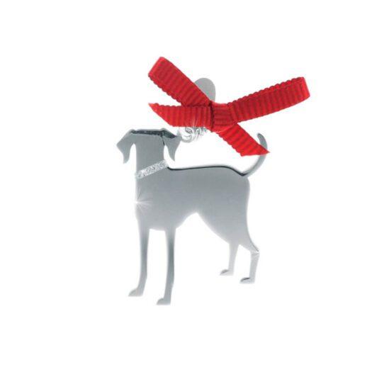 Ciondolo Unoaerre Argento Smalto Cane Meticcio - Happy Pets - AG844