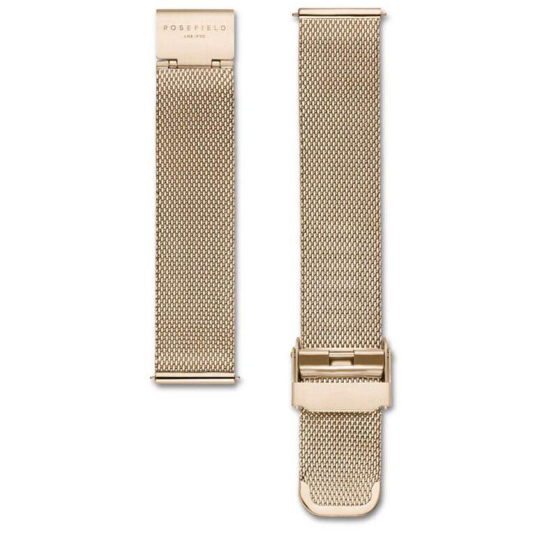 Orologio Donna Rosefield Acciaio + Cinturino Maglia Milano - The Boxy - QWGTG-X223