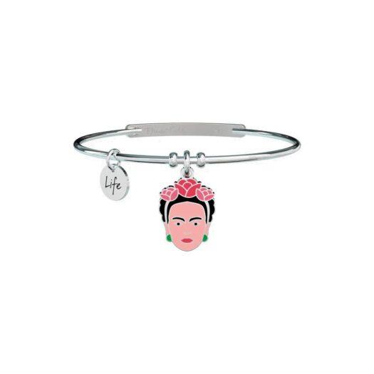 Bracciale Kidult in Acciaio  Viva la Vida - Frida Kahlo - 731603