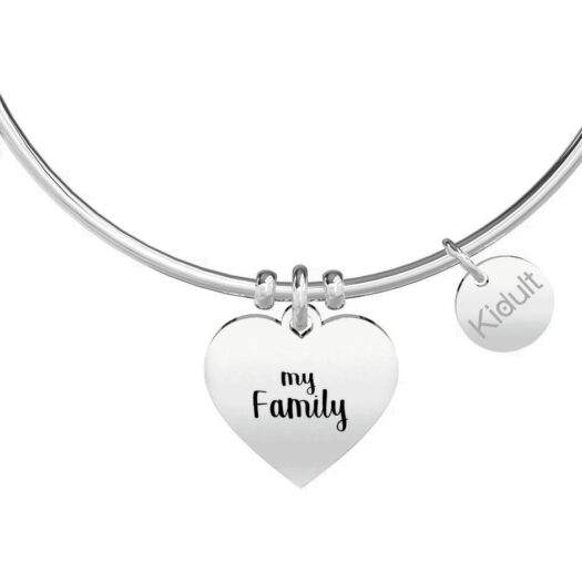 Bracciale Donna Kidult in Acciaio Cuore  My Family - Family - 731629