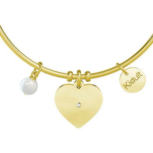 Bracciale Donna Kidult in Acciaio e Perla Cuore  One in a Million - Love - 731633