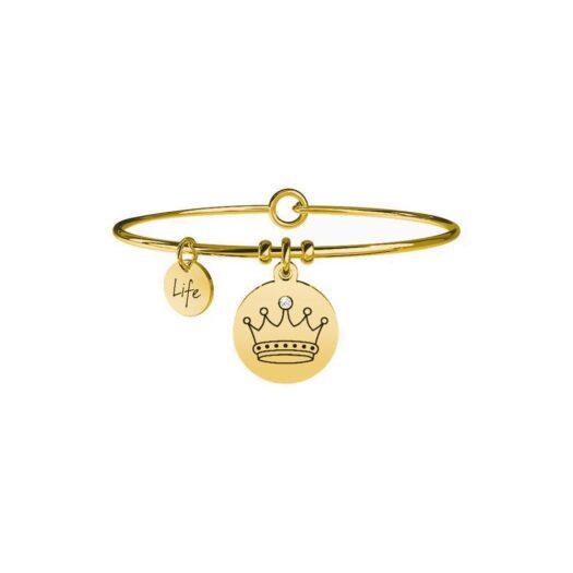 Bracciale Kidult in Acciaio Corona  Carisma - Symbols - 731658