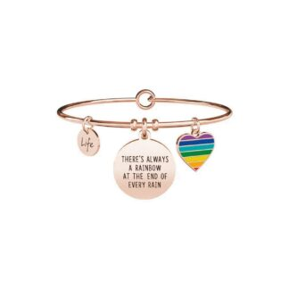 Bracciale Kidult in Acciaio  There always be a Rainbow... - Philosophy - 731667