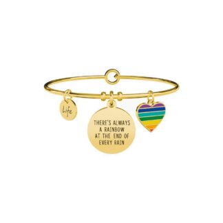 Bracciale Kidult in Acciaio  There always be a Rainbow... - Philosophy - 731668