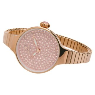 Orologio Hoops Donna Acciaio Rosè Zirconi Cherie Diamonds 2601L-RG04