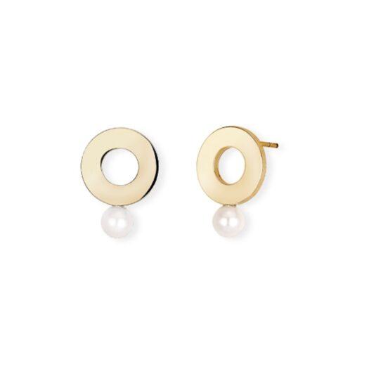 Orecchini 2Jewels in Acciaio con Shell Pearl - Minimal Chic - 261287