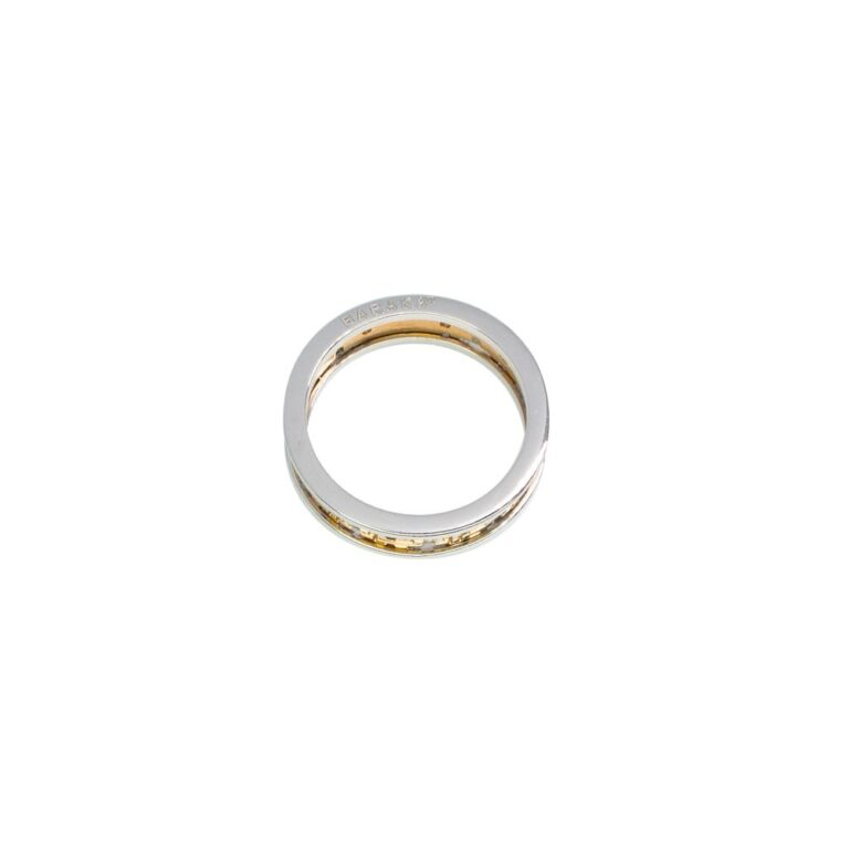 Anello Barakà Oro Bicolore Diamanti Neri - AN21444BB004