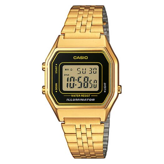 Orologio Digitale Casio da Donna in Acciaio Dorato - LA680WEGA-1ER|Orologio Digitale Casio Donna in Acciaio Dorato - LA680WEGA-9ER