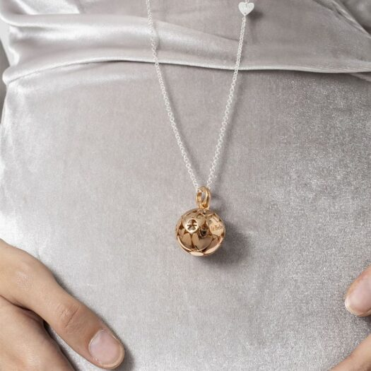Collana Le Bebé in Argento con Sfera - I Mondi - SNM016