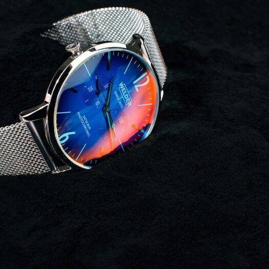 Orologio Fotocromatico Welder Acciaio   Solo Tempo - Moody - WWRS403