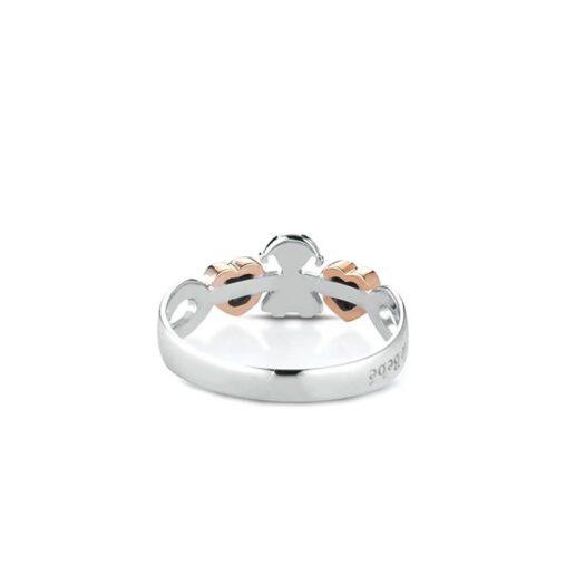 Anello Le Bebè Girocuore Bimba Oro Diamanti LBB112