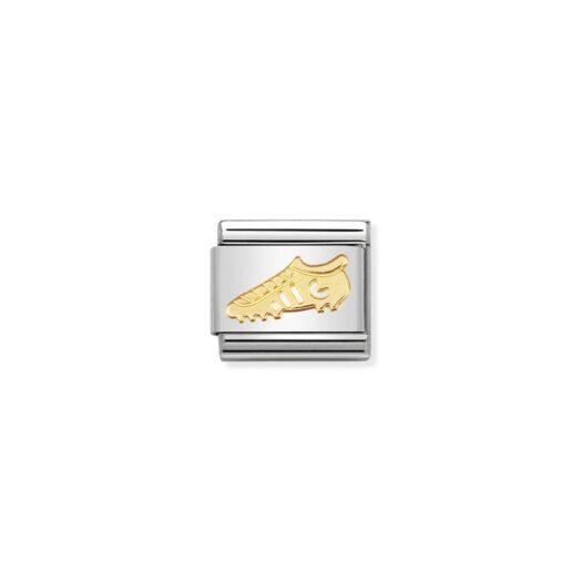 Charm Nomination in Acciaio e Oro - Composable - 030106/04
