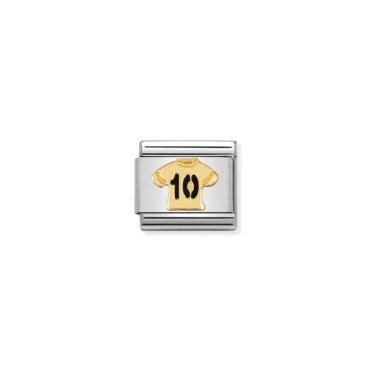 Charm Nomination in Acciaio e Oro - Composable - 030204/12